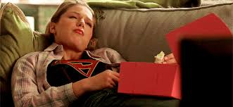 the couch series supergirl 2015 tv series images kara lying on the couch with