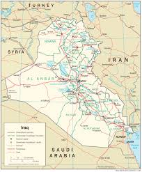 Map Of The Up Iraq Maps Perry Castañeda Map Collection Ut Library Online