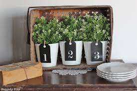 simple farmhouse how to make simple farmhouse number tags