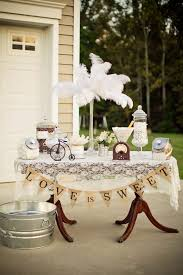 burlap wedding decorations kara s party ideas vintage backyard wedding table party planning