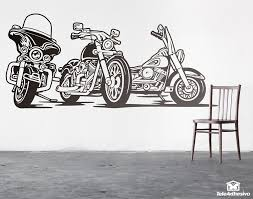 wall decal design personalized customize large vinyl logo harley