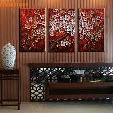 Cheap White Wall Paint Online Get Cheap White Flowers Canvas Paint Aliexpress Com