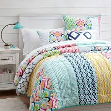 geometric pattern bedding amazing bedspreads for teenage girls room with winning colorful