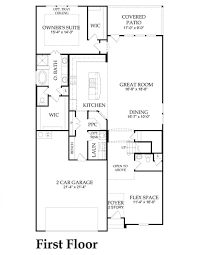 100 new home floorplans the estates at canyon grove floor