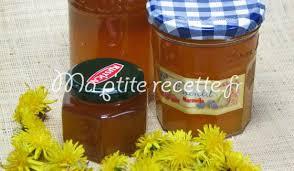 cuisiner le pissenlit confiture de fleurs de pissenlit recette confiture pissenlit