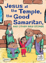 amazon com jesus at the temple the good samaritan and other