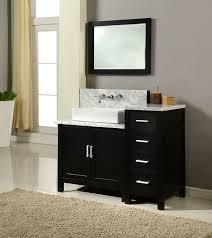 Bathroom Single Sink Vanity by J U0026 J International 50 Inch Horizon Single Sink Vanity White