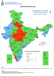 World Map Rainfall by Rainfall Departure Maps Gujaratweather Com