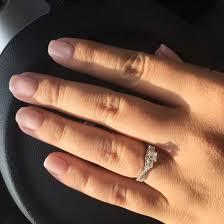 Jareds Wedding Rings by Jared Diamond Engagement Ring 1 2 Ct Tw Princess Cut 14k White Gold