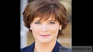 best short hairstyles for women over 50 youtube