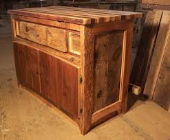Kitchen Island Cabinet Base by Buy A Custom Butcher Block Kitchen Island From Reclaimed Hardwood