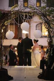 can a diy wedding arch be made of branches