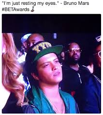Bet Awards Meme - sleepy bruno mars know your meme