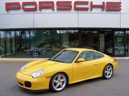 porsche yellow 2002 porsche carrera 4s coupe in speed yellow porschebahn weblog