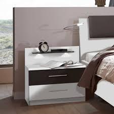 Schlafzimmer Set Mit Led Beleuchtung Schlafzimmerset White In Weiß Braun Pharao24 De
