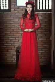 ao dai cuoi dep những mẫu áo dài giả váy cưới đẹp nhất