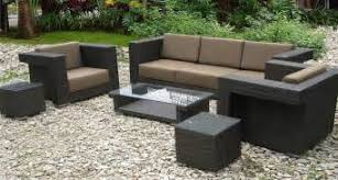 wood vs synthetic wicker outdoor furniture synthetic wicker patio