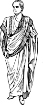 clipart toga clothing