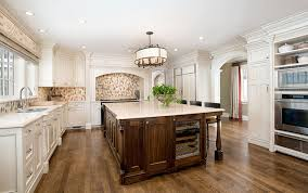 white kitchen wood island 45 luxurious kitchens with white cabinets ultimate guide