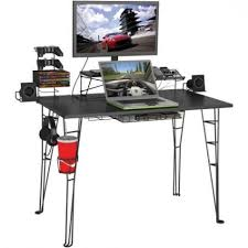 Console Gaming Desk 12 Best Gaming Desks For Pc Or Console Gamers In 2017 Intended