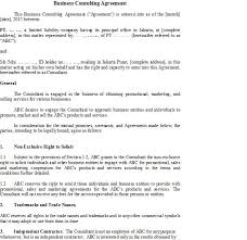 marketing consulting agreement advertising and marketing