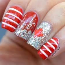 nails happy canada 150 and birthday to me cosmetic proof