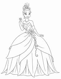 Princess Tiana Waving Hand In Princess And The Frog Coloring Pages Princess And The Frog Colouring Pages