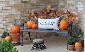 ideas for outdoor decorating for fall