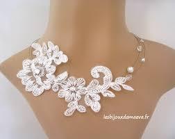bijoux de mariage bijoux dentelle mariage la boutique de maud
