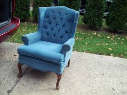 occasional chairs upholstered tags navy blue wingback chair