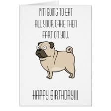 pug cards invitations greeting photo cards zazzle