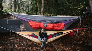 kammok has the perfect gear for hammock camping in the fall the