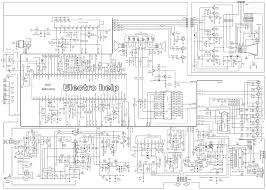 parker tu2191 ultraslim crt tv full circuit diagram tips and