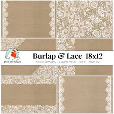 Shabby Chic Placemats by Burlap U0026 Lace Digital Paper 18x12 Rustic Printable Placemat