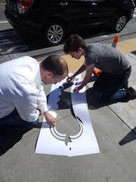 seattle u0027s hidden street art is only revealed after a good soaking