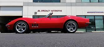 corvette restomod is this the resto mod c3 corvette