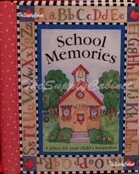 school photo album school memories pre k 12 keepsake scrapbook album book