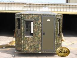 Bow Hunting Box Blinds Custom Hunting Blinds Designed For Success Boss Game Systems