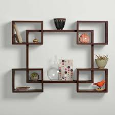 decor new decorative wooden shelves for the wall design ideas