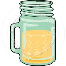 drink vector cartoon mason jar drink vector illustration by clip art guy toon