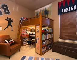 How To Make A Loft Bed With Desk Underneath by Bed Desk Combos Save Space And Add Interest To Small Rooms