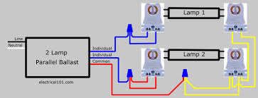how to wire a 2 l ballast ge ballast wiring diagram efcaviation com