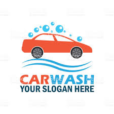 car wash service car wash service icon with text space for your slogan tagline