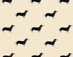 dachshund christmas wrapping paper dog wrapping paper etsy