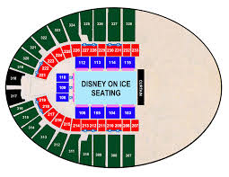Frontier Seat Map Disney On Ice Presents Follow Your Heart Oklahoma State Fair