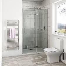Easy Clean Shower Doors Mode Beck Premium 8mm Hinged Easy Clean Shower Door Clean Shower
