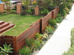 Best  Yard Fencing Ideas Only On Pinterest Front Yard Fence - Backyard fence design