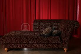 Studio Curtain Background Bright Red Stage Theater Draped Curtain Background On Black Stock