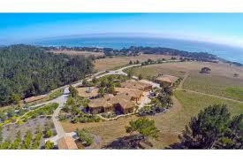 palladian inspired estate is located in cambria california luxury homes for sale