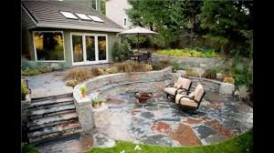 Stone Patio Images by Stone Patio Ideas Youtube